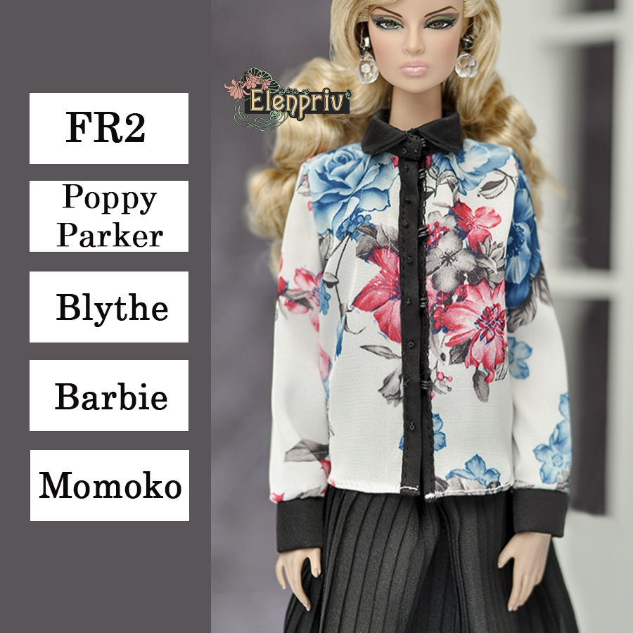 Luggage for Barbie Integrity Toys and other 12 inches doll Poppy Parker Blythe