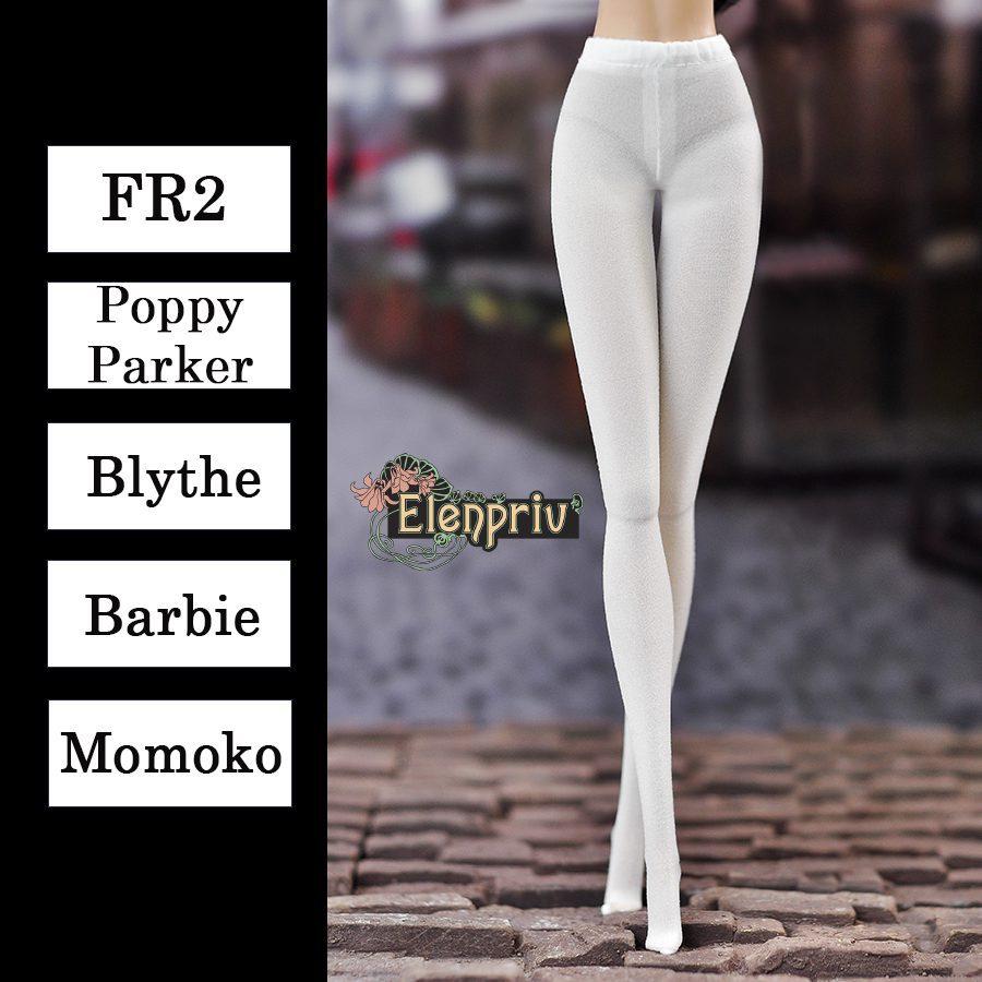 "pantyhose for 12/"" Doll~ Barbie,FR Handmade~Doll Stockings Silkstone"